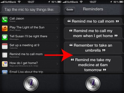 Siri Command Sample