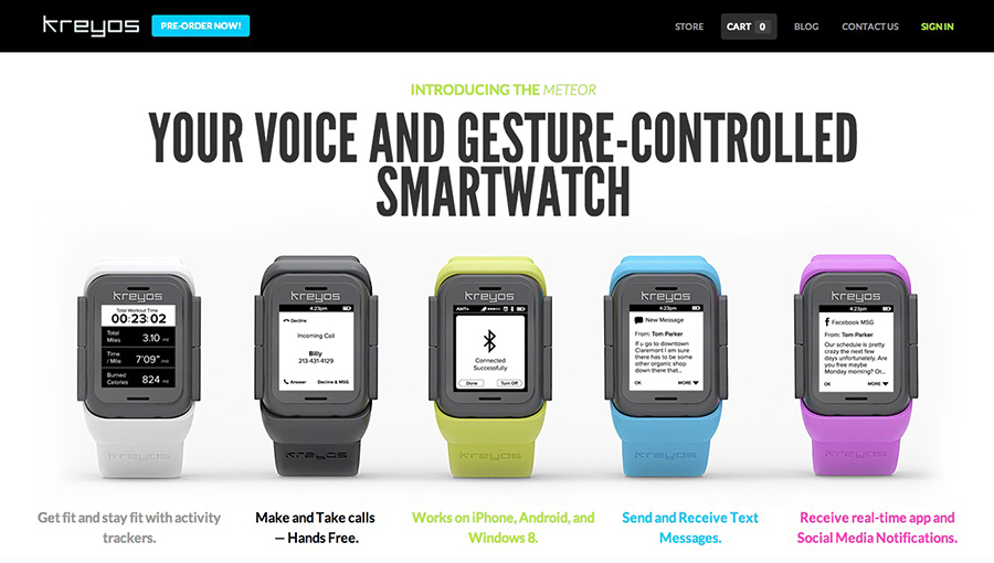 Kreyos-Smartwatch